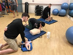 work first aid course