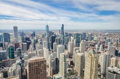 Chicago-view from the Hancock (pattyg24) Tags: architecture building chicago hancockbuilding illinois tokina1120mm cityscape skyscraper view windows