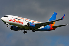 G-GDFM (GH@BHD) Tags: ggdfm 737 737300 b737 b733 ls exs jet2 jet2holidays bfs egaa belfastinternationalairport aldergrove airliner aircraft aviation