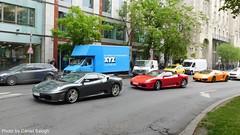 Ferrari F430, F430 Spider and Lamborghini Gallardo LP560-4 (Daniel Supercars) Tags: ferrari f430 spider lamborghini gallardo lp5604