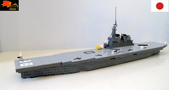 Izumo-class helicopter destroyer (Eínon) Tags: lego izumo class helicopter destroyer hyuga ise shinano haruna