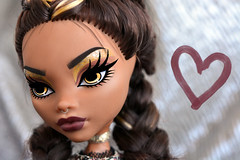 Instagirl 👄 (dasha.savitskaya13) Tags: monsterhigh monster high clawdeen wolf beautiful nice girl bomb instagirl collection doll dolls gold black white silver heart brown fashion