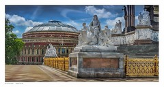 Royal Albert Hall, London. (Richard Murrin Art) Tags: royal albert hall memorial richard murrin art photography canon 5d landscape travel images building cool