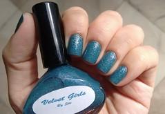 Velvet Girls - By Ste - Aniversário das Veludas (Roberta_Rezende) Tags: byste azul glitter colorama poshe