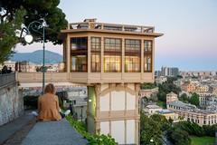 Genoa - Belvedere Montaldo (Spianata Castelletto) (bautisterias) Tags: italy italia liguria riviera ligurie genova genoa gênes zêna d750 europe view viewpoint mediterranean mediterraneanitaly