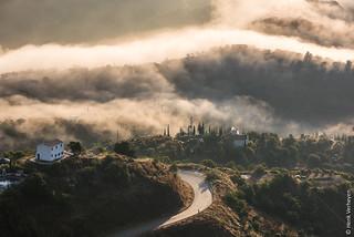 View from Villa Luna - Comares, Spain