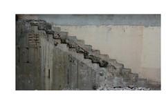 Je vous parle d'un temps... (Pi-F) Tags: démolition trace mur escalier travaux marche état ciment vestige ancien montée étage diagonale vétuste abstrait dessin