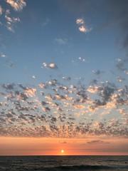 Sunset at Nokomis Beach