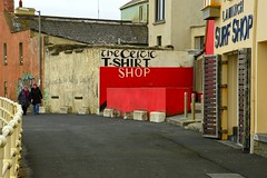 Lahinch 10 (Krasivaya Liza) Tags: lahinch county clare countyclare ireland irish countryside village town colorful history historical buildings
