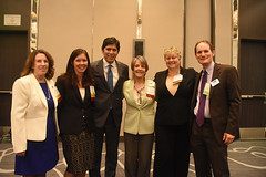 Jan Pepper, Dawn Weisz, Senator Kevin de León, Ann Hancock, Barbara Moulton, Barry Vesser