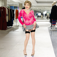 home14741 (Ann Drogyny) Tags: shoes legs heels crossdress crossdresser crossdressing cd tv tg ts transvestite transgender transsexual tranny tgirl glamour pinup mature cute sexy stockings nylons suspenders garters
