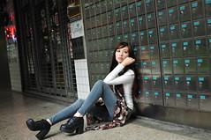 喬喬1030 (Mike (JPG直出~ 這就是我的忍道XD)) Tags: 喬喬 台灣大學 d300 model beauty 外拍 portrait 2013