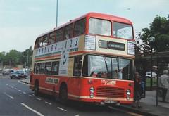 833 (4), HRP 673N, Bristol VR (t.1992) (Andy Reeve-Smith) Tags: bristol bristolvr vr ecw ecwbody easterncoachworks unitedcounties 833 hrp673n series2 lutondistrict ld ldt lutonbus dunstable bedfordshire luton arriva arrivatheshires theshires britishbus