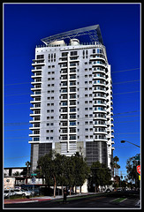 GoDown&See (VegasBnR) Tags: nikon sigma building downtown buildings vegas vegasbnr lasvegas nevada street artdistrict tree skateboard people