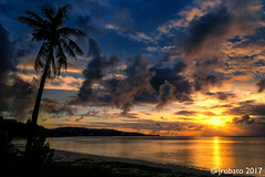 Fading Light (orgazmo) Tags: guam sunsets sun trees skyscapes sky cloudscapes clouds cloudformations landscapes eastagana easthagatna aganabay ocean outdoors coastlines nikon d500 tamron 16300mmf3563diiivcpzdmacro
