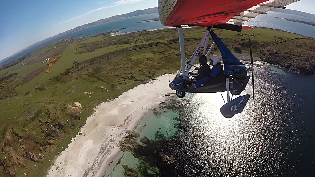 Ready to land at Gigha Isaland