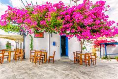 Lefkes, Paros (Kevin R Thornton) Tags: d90 taverna nikon travel street mediterranean greece architecture lefkes paros egeo gr