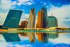 Riyadh Towers 2 (obyda) Tags: riyadh saudi tower building color reflection canon architecture