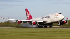 Virgin G-VGAL 747-443 EGCC 26.04.2017 (J o n a t h a n P a l o m b o |P h o t o g r a p y) Tags: 26042017 747 aviation boeing gvgal jerseygirl man manchesterairport planes vir virgin wednesday