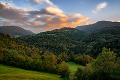 Sunset colours (Agnolo) Tags: nikon nikkor d7100 1685 valbelluna alpi veneto paesaggio landscape tramonto colours sunset mountain mountains montagna
