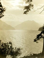 P1.WA2.009 (American Alpine Club Photo Library) Tags: lakes crescentlake olympicnationalpark