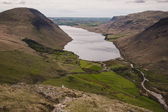 Overlooking Wast Water Wasdale, Lake District, UK (melvincacho) Tags: lake district mountains water wasdale wast coast cumbria