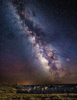 Milky Way Over Jones Hole Utah