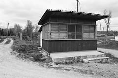 Old Shop. Wólka Gościeradowska, Poland (Luke Hasnotenough) Tags: analog xp2super400 eos300 film ilford building shop poland polska wolka wólka