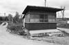 Old Shop. Wólka Gościeradowska, Poland (Luke Kwiatkowski) Tags: analog xp2super400 eos300 film ilford building shop poland polska wolka wólka
