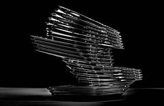 design - shoe (christikren) Tags: shoe schuh design vienna austria steffl christikren sw bw wien blackandwhite shop