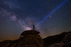 It's Out There (EricGail_AdventureInFineArtPhotography) Tags: milkyway stars sky canon california nightscape