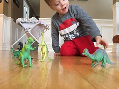 "Paul Plays with His Dinosaurs • <a style=""font-size:0.8em;"" href=""http://www.flickr.com/photos/109120354@N07/34430542946/"" target=""_blank"">View on Flickr</a>"