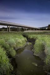 Puente de Catoira (A. Patiño) Tags: landscape paisaje sunset night nocturna catoira torres del oeste rio ulla clouds blue hour canon samyang 16mm barbanza galicia marisma wetland