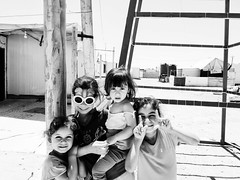 Zaatari refugee camp, Jordan-Syria border. (Federico Verani) Tags: zaatari refugeecamp refugeescrisis syrian syria jordan blackwhite biancoenero bn blancoynegro monocrome noirblanc street documentary photography portrait bw blackandwhite middleeast conflict crisis border war