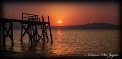 Silhouette (Nabendu Das Gupta) Tags: northern ireland hollywood belfast lough sunset kinnegar jetty sky orange landscape ulster silhouette canon 550d refelction jettyholywood silhouettebelfastloughsunsetnorthernirelandlandscapekinnegartideloughwaterkinnegar queen island