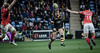 Danny Cipriani chips ahead (davidhowlett) Tags: saracens sarries wasps premiership ricoh rugbyunion rugby aviva coventry