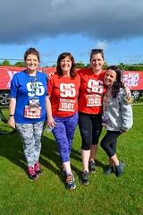 Rachael and Ann O'Byrne and friends (James O'Hanlon) Tags: btr runfor96 run for 96 runforthe96 liverpool stanley park 5k race event lfc 2017 stars vip jft96 jft