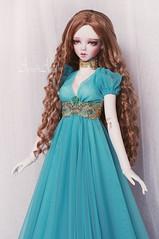 Azure Druid (AyuAna) Tags: bjd ball jointed doll dollfie ayuana design handmade ooak clothing clothes dress set fantasy historical regency style sadol love60 yena whiteskin