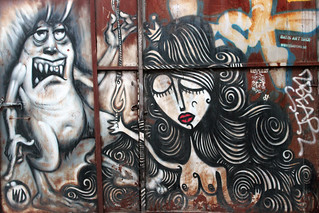 The devil and the girl in Athen (by Sonke)