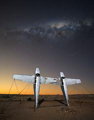 RAAF Oodnadatta (Jay Daley) Tags: australia oodnadatta track outback milky way stars night sky