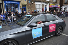 Tour De Yorkshire Stage 2 (482) (rs1979) Tags: tourdeyorkshire yorkshire cyclerace cycling officialcar tourdeyorkshire2017 tourdeyorkshire2017stage2 stage2 knaresborough harrogate nidderdale niddgorge northyorkshire highstreet