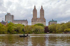 A Day On The Lake (Tommy Bass) Tags: red manhattan nyc centralpark newyorkcity canon sanremo sanremoapartments