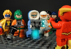 Flash Rogues (MrKjito) Tags: lego minifig flash rouges central city trickster mirror master captain cold heatwave weather wizard boomerang dc comics comic barry allen