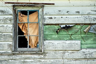 Window of Abandoned Building 538 B