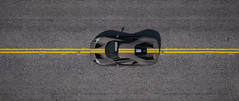 Yellow Lines (imkairu) Tags: reshade gta gtav gta5 grand theft auto gaming game yellow line road car ford gt drive widescreen