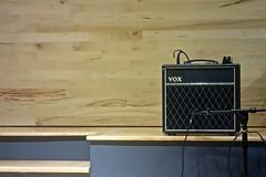 Vox (ricko) Tags: vox amplifier stage concert greenguitar lenexa kansas