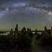 Eta Aquariid Meteor Over Mono Lake