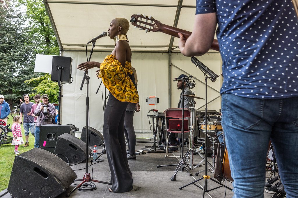 NC GREY IS A SOUL SINGER SONGWRITER [SHE PERFORMED AGAIN AT AFRICA DAY IN DUBLIN]-128592