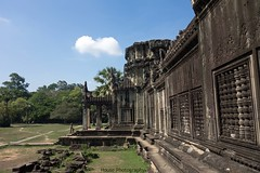Angkor Wat ({House} Photography) Tags: angkor wat unesco world heritage site cambodia asia siem reap sony rx100 mk1 ancient religious 12th century temple hindu god vishnu housephotography timothyhouse sky clouds sun carving architecture