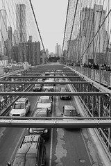 the road to Brooklyn (Towner Images) Tags: ny nyc us usa towner manhattan urban city america townerimages bridge road boardwalk brooklyn cable girder